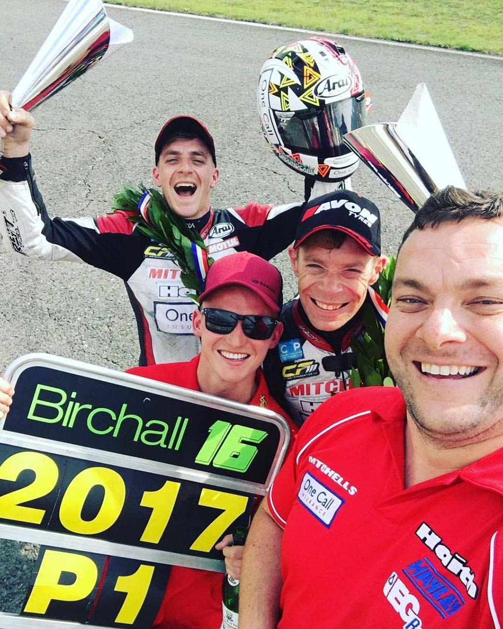 BIRCHALL BROTHERS CROWNED WORLD CHAMPIONS