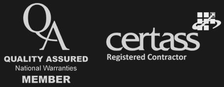 QA logo / Certas Logo