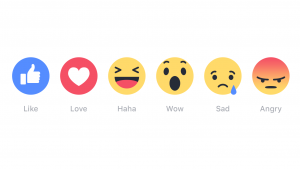 Facebook rection graphics